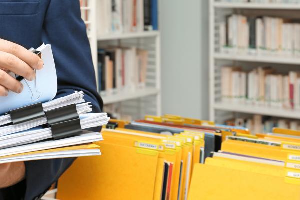хранение архивов документов
